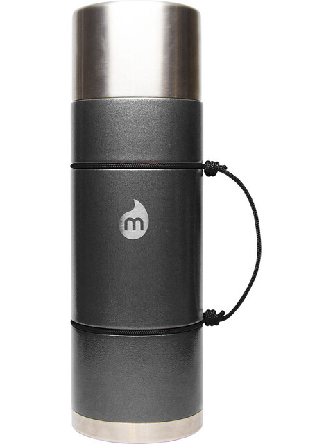 MIZU V10 Insulated Bottle with LE Drip 1000ml Gray Hammer Paint